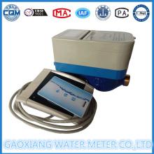Medidor de agua prepagado de la impulsión de la tarjeta del RF con la válvula del motor (DN15-DN25)