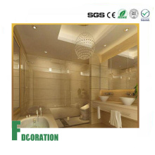 Крытые плитки использование композитных УФ Мраморный лист моющиеся панели стены PVC для домашнего украшения