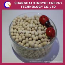 tamis moléculaire à zéolite oxygène 3a 5a pour séchage à l'éthanol