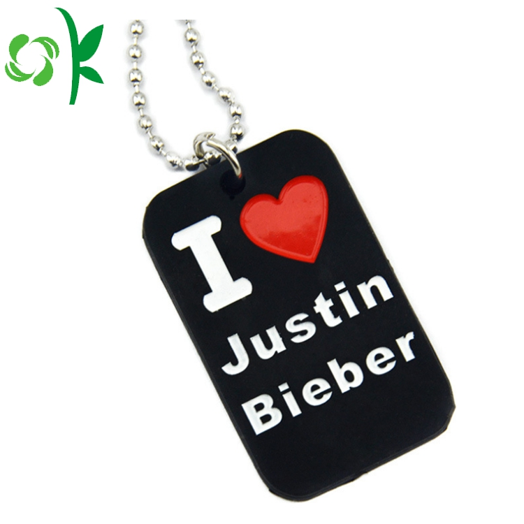Black Pet Dog Tag