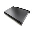 Filtre à glissière noir type 48 port fiber patch panel