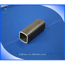 Tubo retangular de aço carbono sem costura