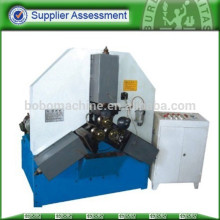 Hydraulic threading machine for steel pipe screw