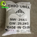 classe industrial de cristal branca 99% thiourea usa impressão-tingimento