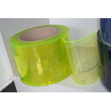 Rideau en PVC souple et transparent