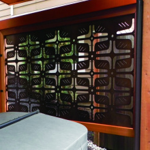 Laser Cut Aluminum Partition Screens