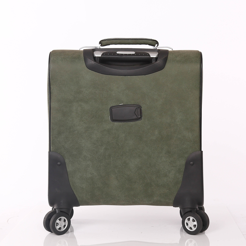 Small Size Leather Laptop suitcase