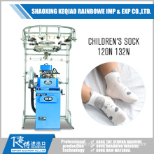 Factory directly sale for Single Cylinder Sock Knitting Comfortable Children's Socks Knitting Machine supply to Seychelles Factories