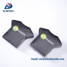 Promocional logotipo personalizado algodão camiseta compactada