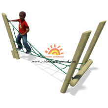 Wooden Park Activity Climbing Net