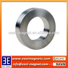 Imán de neodimio sinterizado de la forma n50 de la forma del anillo fuerte fuerte / imán grueso del anillo para la venta