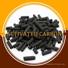 Carbón activado columnar de pequeña cantidad para filtro de gas / aire