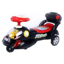 Coche del oscilación del bebé, coche de la torcedura, coche del juguete del bebé