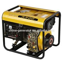 Certificat CE max. Générateur diesel 5kw WH5500DG
