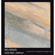 Azulejos baratos de piso de porcelana pulida 800X800