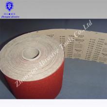 Rouleau de papier de sable imperméable coloré de 115mm * de 50m