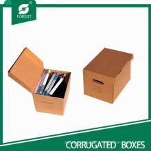 Boîtes d'emballage de papier de fichier Qualiy élevé par Qualiy