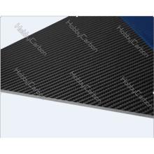 Laminado 100% completo de la placa de la fibra de carbono / hoja / placa / junta la tela de la fibra de carbono