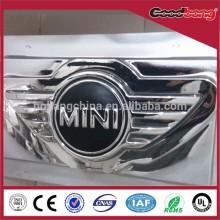 Acrylic vacuum coating Vehicle Logo