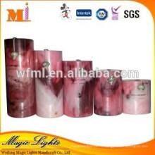 Nouvelle bougie parfumée de cire de pilier personnalisé avec la grande taille