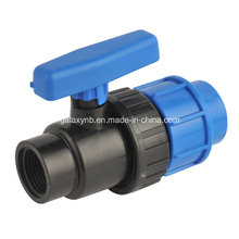 Dark Blue Color PP Ball Valve for Irrigation