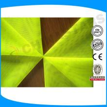 NFPA 701 (2004) Retardante de llama Tela fluorescente de alta visibilidad que cumple con ANSI / ISEA