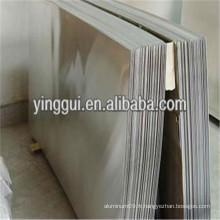 2017A 2024 2124 lamelle / plaque en diamant en alliage d'aluminium laminé à froid