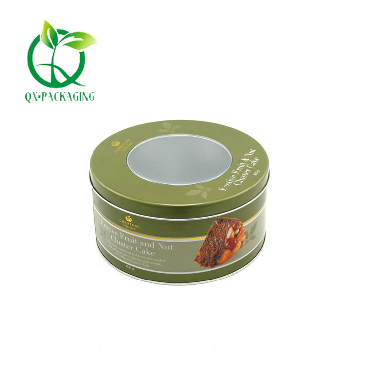 Small Round Tin Box