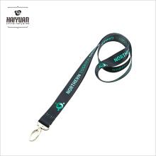 Logotipo de entrega rápida Cordão personalizado com suporte de cartão de identificação / cordão de transferência de calor para feira