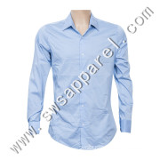 Fashion Man's Long Sleeves Formal Office Wear Business Shirt