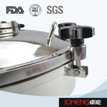 Stainless Steel Food Processing Round Type Manhole with Light (JN-ML2005)