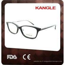 2017 nouveaux cadres optiques d'acétate de conception, gentilles lunettes de dames