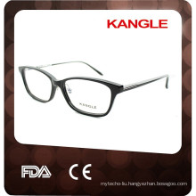 2017 New design acetate optical frames, nice Ladies eyeglasses
