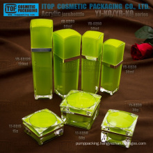 Interesting high class double layers strict quality inspection so cost effective luxury acrylic cosmetic plastic container