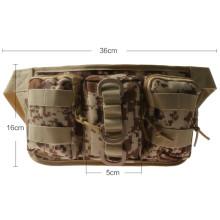 Military Airsoft Outdoor Triple Waist Bag Waterproof Waist Pack