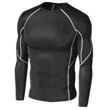 Quick dry perspire long sleeve compression sport wear