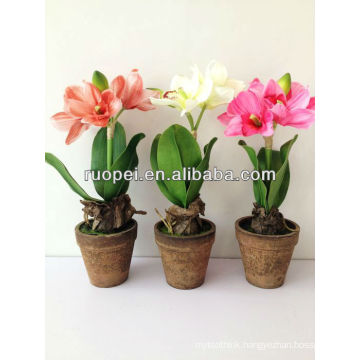 Artificial flower tree New product 40cm high Three colors flower tree