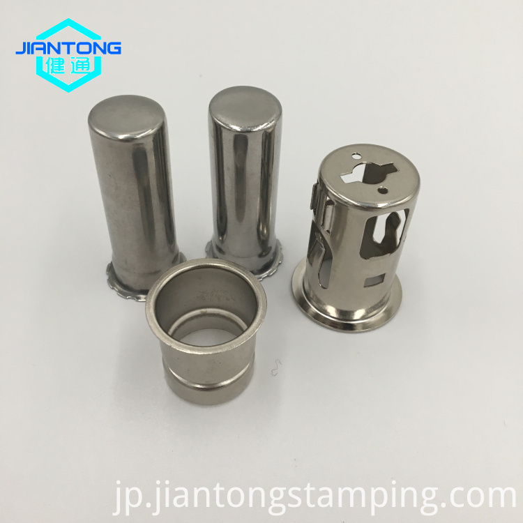 custom stainless steel deep drawn drawing metal stamping parts (3)
