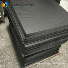 High quality hot sale 1mm 1.5mm 2mm 3mm 4mm carbon fiber plate 3k twill plain
