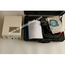 Videoscopio de endoscopio flexible veterinario