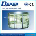 Curve aluminum glass sliding door