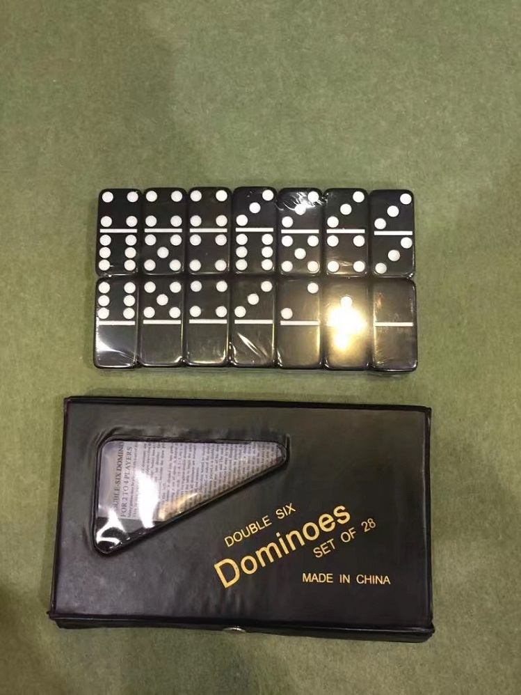 Ivory Domino In PVC Box