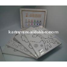 DIYpaint set/paint gift , Acrylic Paint by number,oil paint