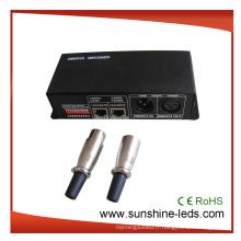 Contrôleur LED DMX 512 programmable 24/4/3 canaux, décodeur pour bande LED RGB