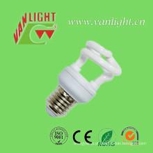 Meia espiral T2 5W lâmpada CFL de poupança de energia