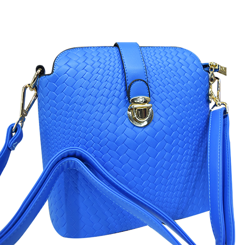 Push Lock Closure Handbag