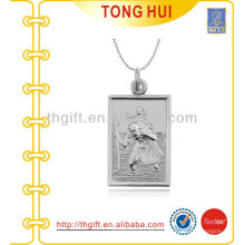 3D Old man dog tag necklace manufacturer jewelry