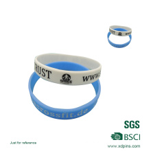 Factory Direct Price Silicone Wristband Infill Colors