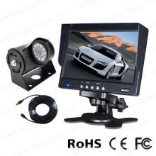 Moniteur numérique à cristaux liquides TFT LCD de 7 pouces et système de caméra inversée de voiture