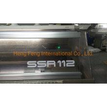 Shima Seiki SSR 112sv 12g Year 2015 Used Flat Knitting Machine Running in The Factory